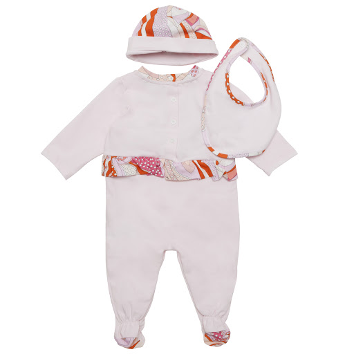Thumbnail images of Emilio Pucci 3 Piece Babysuit Gift Set
