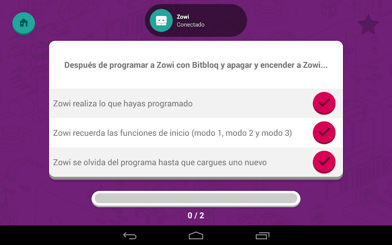 android Zowi App Screenshot 21