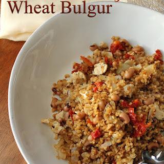 Chicken, Black Eyed-Pea & Sun-Dried Tomato Bulgur