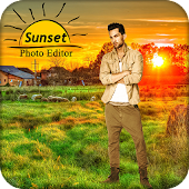 Sunset Photo Frame / Sunset Photo Editor