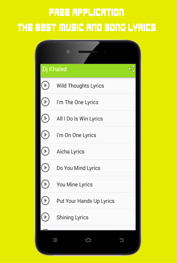 Lyric out here grindin lyrics : Dj Khaled Wild Thoughts - Android Apps on Google Play