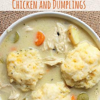 Crockpot Chicken and Dumplings.