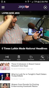 K-Fox 95.5 - All Hit Music K-Fox 95.5 (KAFX)- screenshot thumbnail