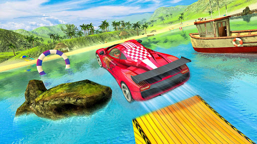 Water Surfer car Floating Beach Drive  screenshots 14