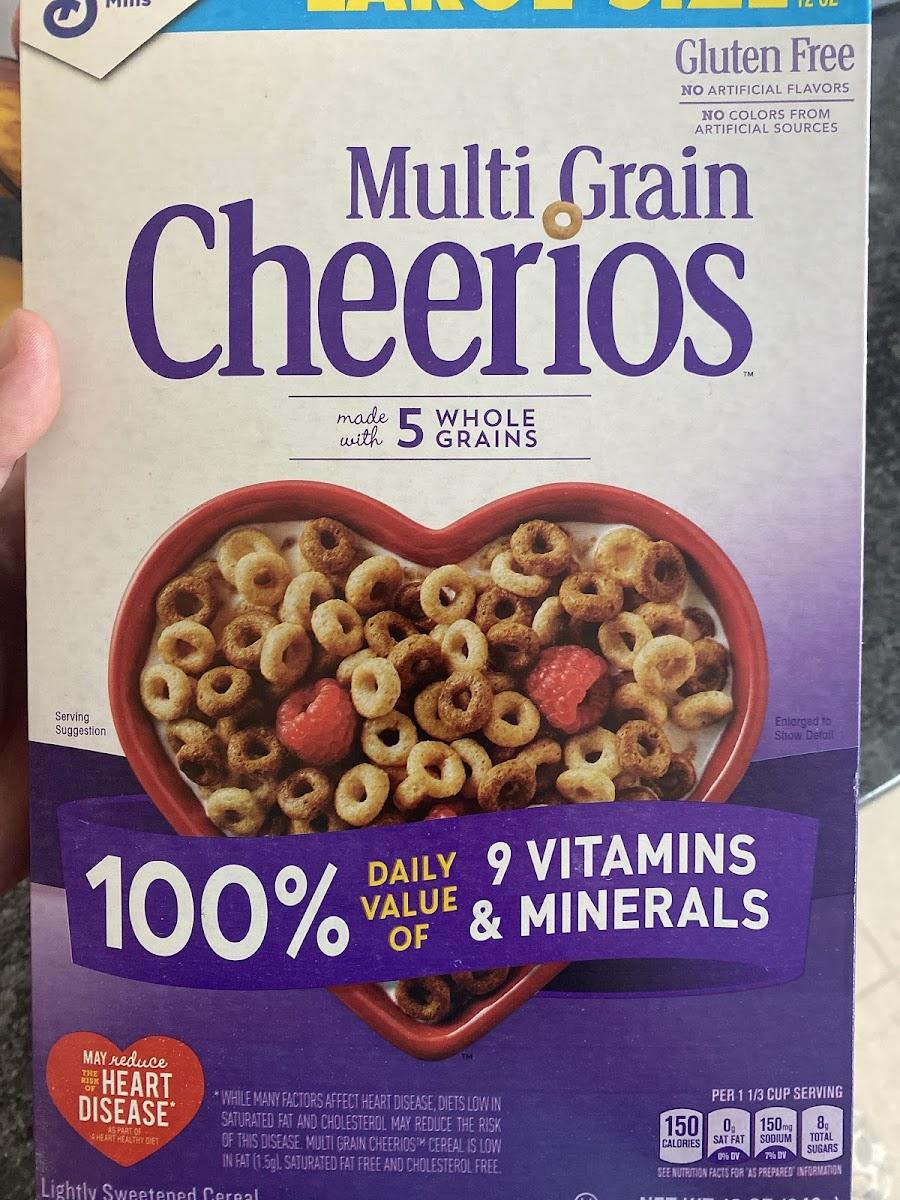 Multi Grain Cheerios