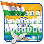 Indian Flag Keyboard Theme