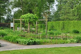Photo: Watertuin in oranjerietuin Vordenstein