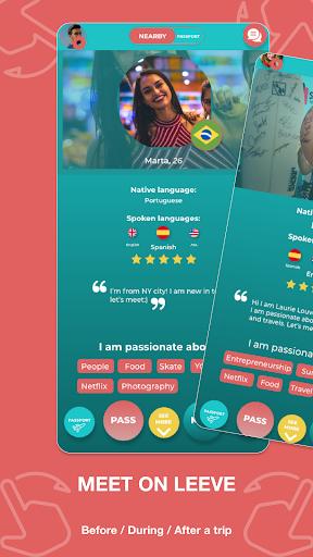 Match - Languages - Meetings - Friends: Leeve 3.4.0 screenshots 2