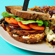 Toasty Tempeh Sandwich