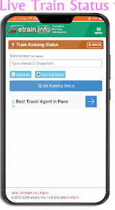 Live Train Status IRCTC Apk Download For Android 3