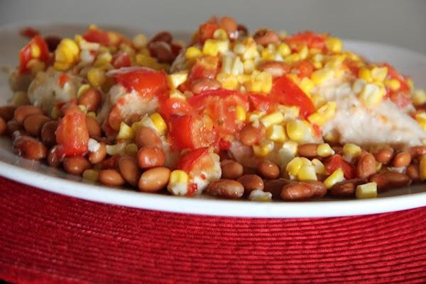 Italian Corn & Tomato Chicken Recipe