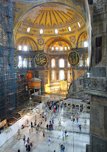 Photo: Hagia Sophia from above
