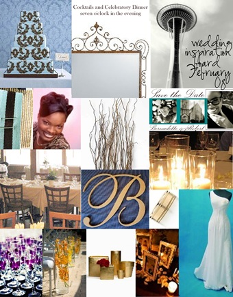 February Wedding Inspiration Board