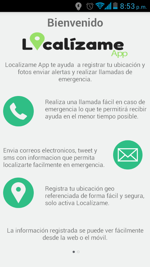 LocalizameApp GPS- screenshot