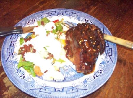 Grilled Stuffed Pork Chops Recipe