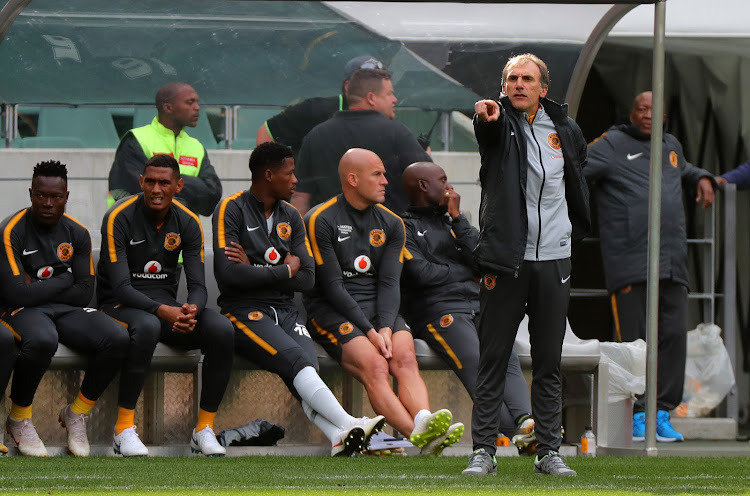 Giovanni Solinas, head coach of Kaizer Chiefs during the Absa Premiership 2018/19 football match between Cape Town City FC and Kaizer Chiefs at Cape Town Stadium, Cape Town, 15 September 2018.