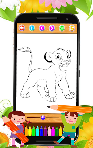 maona coloring pages for PC