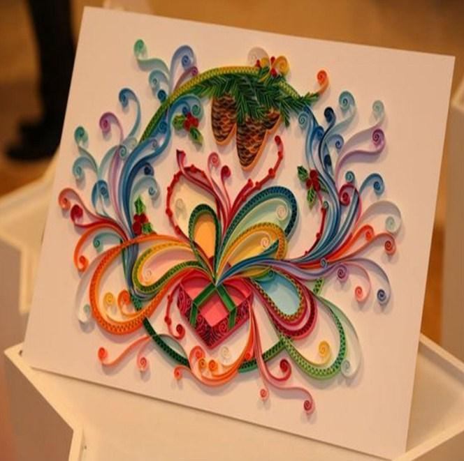 Content of a research paper quilling