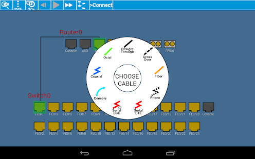 Cisco Packet Tracer Mobile- screenshot thumbnail