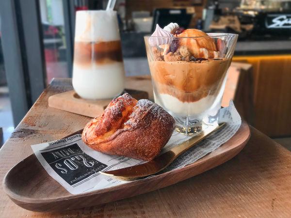 Parlare coffee-復古工業風.鳳山質感咖啡廳.小熊拉花