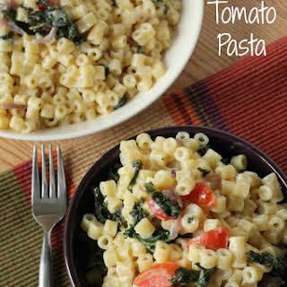 Kale Tomato Pasta.