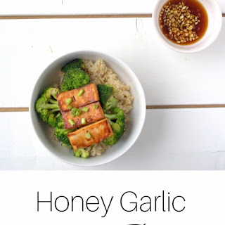 Honey Garlic Tofu Bowl