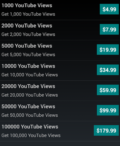 Get YouTube Video Views