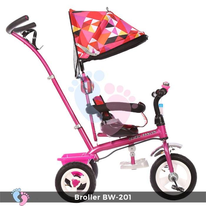 Xe đạp đẩy 3 bánh Broller XD3-201 8