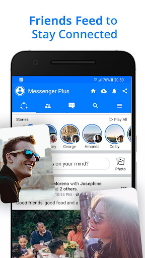 Screenshot for Messenger for Messages, Text and Video Chat in Hong Kong Play Store