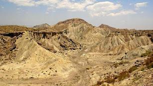 Imagen de archivo del Desierto de Tabernas.