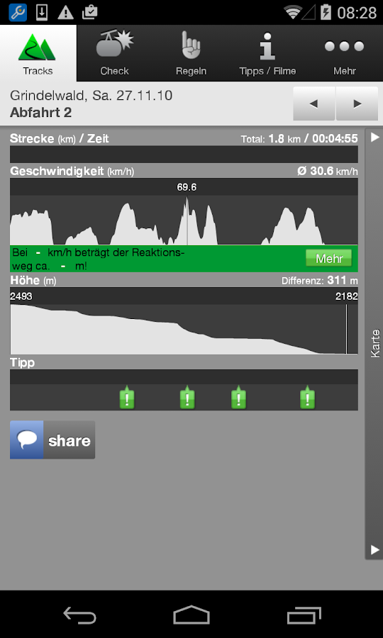 Slope Track- screenshot