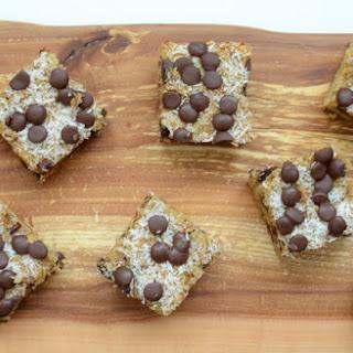 Chocolate Almond Joy Bars.