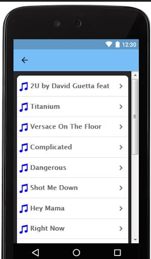 Download David Guetta Songs and Lyrics Google Play softwares