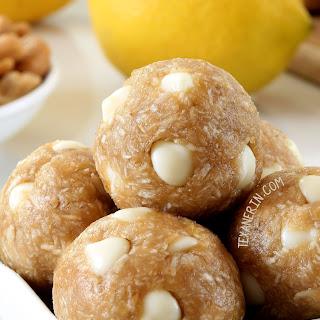 Lemon Energy Bites (vegan, gluten-free, whole grain, dairy-free)
