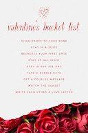 Valentine's Bucket List - Pinterest Pin item