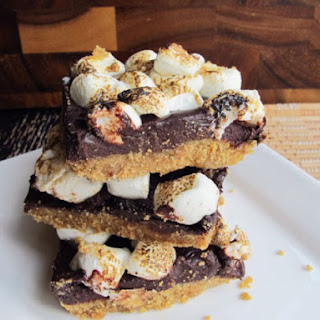 Easy Indoor No Bake S'more Bars