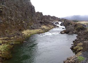 "Photo: Iceland boasts the world's oldest pariliament, formed here in 930 AD.  This ""drownding pool"" was where seventeen women were said to have been killed for having a child out of wedlock."