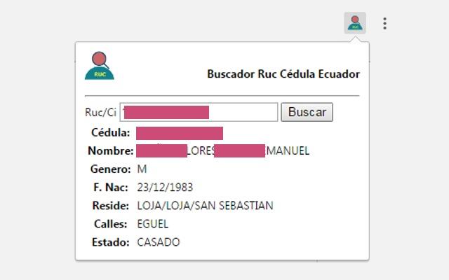 Buscador Ruc Cédula Ecuador