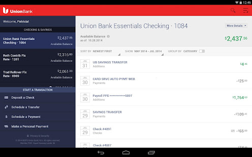 Union Bank Mobile Banking 7
