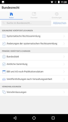 Swiss Federal Law - govApp ApkUpdate 1