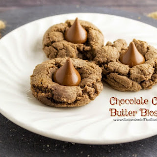 Chocolate Cookie Butter Blossoms