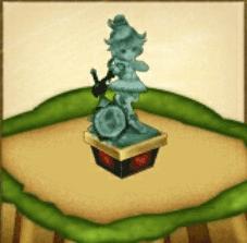 茶熊メアの像