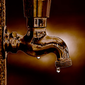 Drip by David Ubach - Products & Objects Industrial Objects ( faucet, water, water drops, objects )