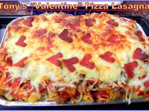 Tony's Pizza Lasagna Recipe