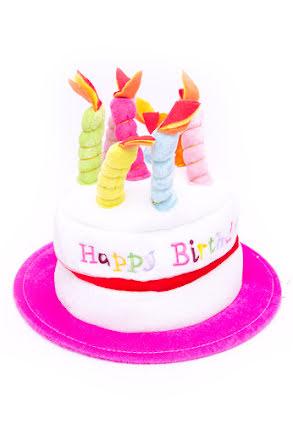 Hatt, Tårta Happy Birthday