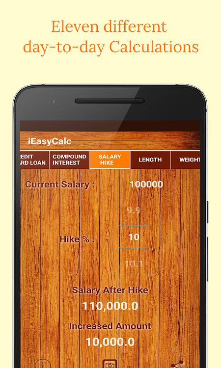iEasyCalc (Loan EMI Calculator/Unit Converter) – (Android Apps) — AppAgg