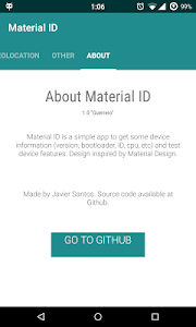 Material ID - Device Info v1.0.0.1