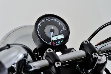 Daytona Velona Varvräknare 9.000 med hastighetsmätare