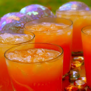 Sparkling Tropical Mimosa Punch.