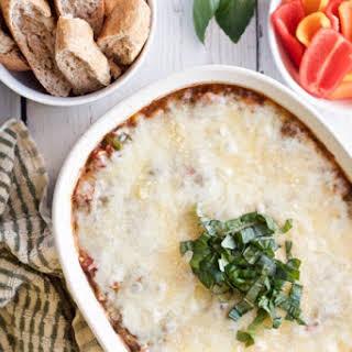 Veggie-loaded Pizza Dip.